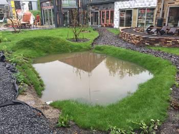 Waterproof in de praktijk gemeente utrecht for Wadi in tuin