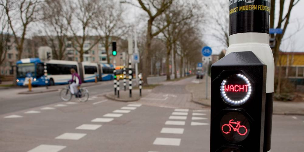 Bike traffic lights