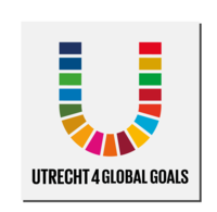 logo 'u'mettekst Utrecht 4 global goals