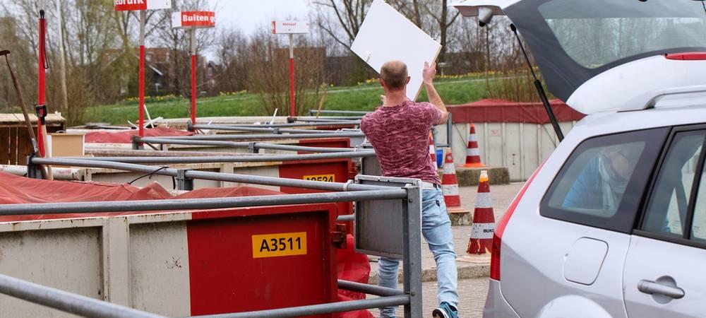 Afvalscheidingsstations Gemeente Utrecht
