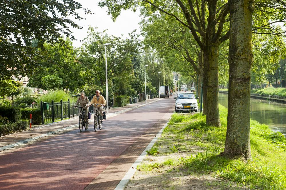 Bicycle street Zandweg