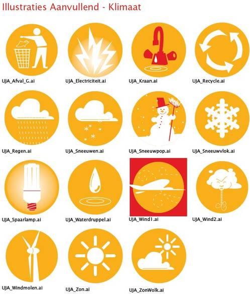 Illustraties klimaat