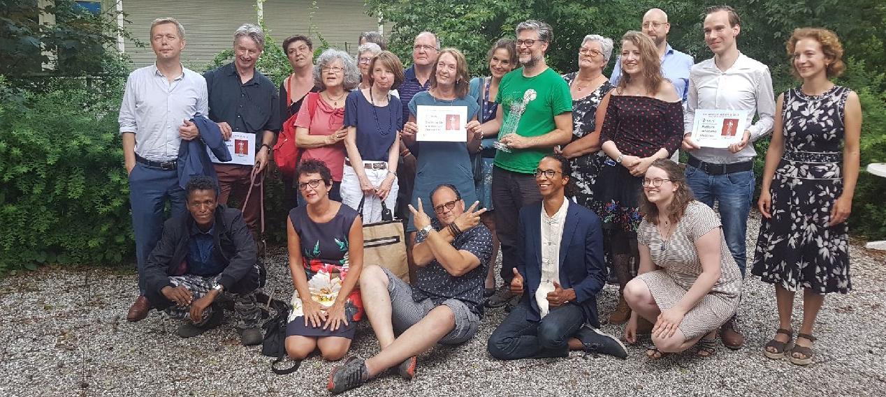 Winnaars toegankelijkheidsprijs 2018: Voedseltuin Overvecht