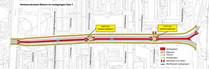 Goylaan verkeersstromen fase 1 fietser voetganger