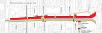 Goylaan verkeersstromen fase 2 fietser voetganger