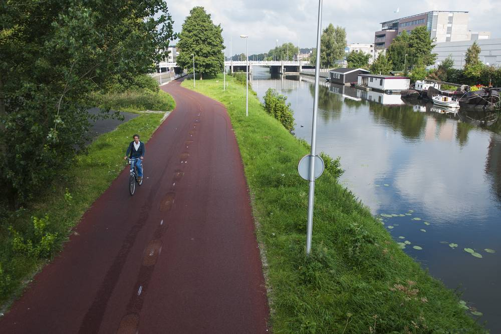 Bicycle route Kanaalweg