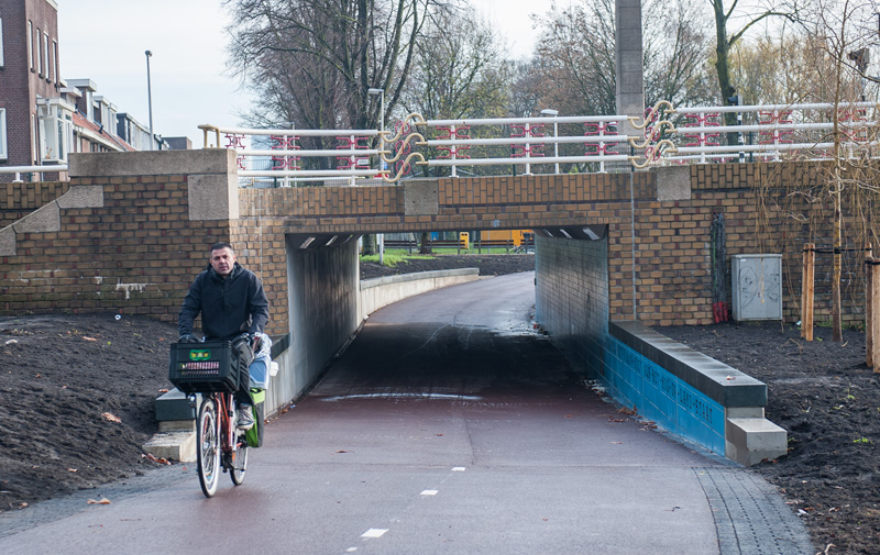Bicycle tunnel Spinoza