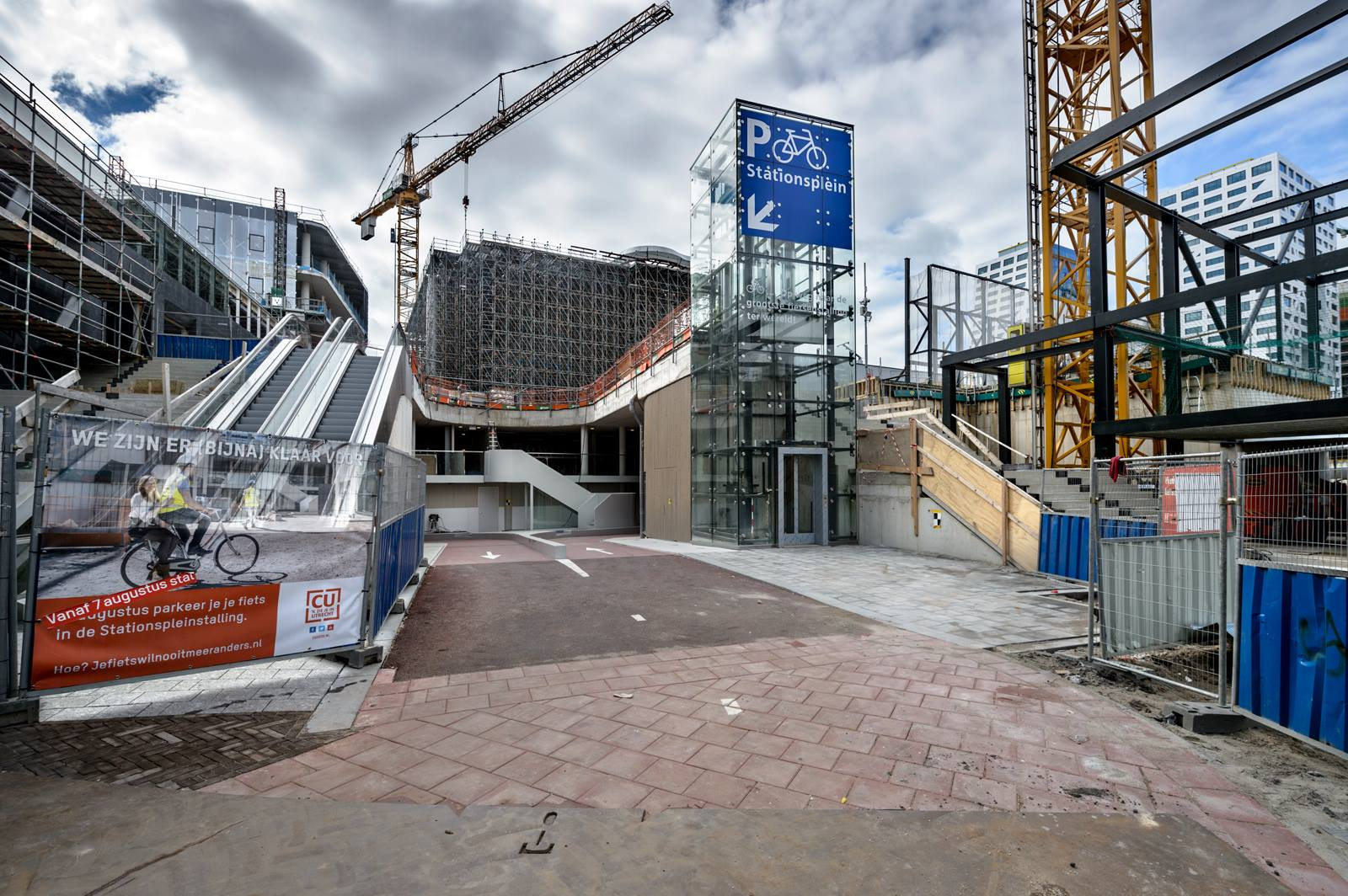 Fietsenstalling Stationsplein Gemeente Utrecht